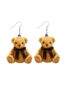 Fashion Teddy Bear Teddy Bear Acrylic Earrings