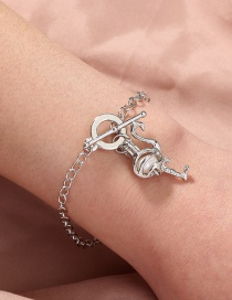 Fashion Silver Color Natural Freshwater Oyster Pearl Ostrich Bracelet