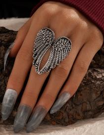 Fashion White K0504 Geometric U-shaped Bead Bracelet