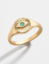 Fashion Number 8 Eye Alloy Adjustable Drip Ring