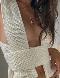 Fashion Dark Gray Single Breasted Long Sleeve Loose Shirt