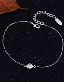 Fashion Platinum Plated Real Gold-plated And Micro-inlaid Zircon Geometric Bracelet