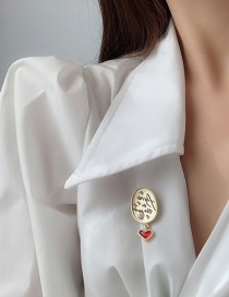 Fashion Main Picture Love Letter Brooch