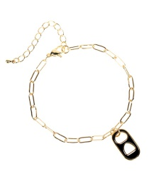 Fashion H-bracelet Dripping Love Pig Nose Bracelet