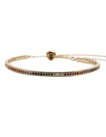 Fashion Gold Color Adjustable Bracelet Yh Adjustable Bracelet With Copper Opening