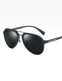Fashion Blue/full Gray Polarized Sunglasses