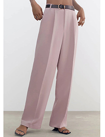 Fashion Nude Pink Unisex Suit Trousers