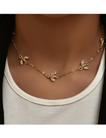 Fashion Gold Color Bee Necklace