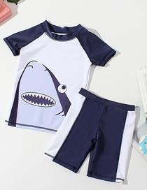Ba?ador Infantil Con Abertura De Tiburón