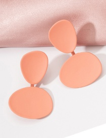 Fashion Candy Colors Candy-colored Geometric Irregular Earrings
