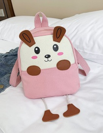 Fashion Pink Children 1-3-9 Years Old Canvas Backpack