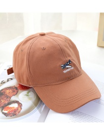 Fashion Brick Red Sunscreen Baseball Cap
