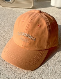 Fashion Orange Sunscreen Baseball Cap