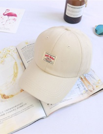 Fashion Beige Sun Protection Baseball Cap