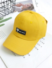 Fashion Turmeric Sunscreen Baseball Cap
