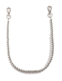 Fashion Silver Color Beaded Metal Body Chain