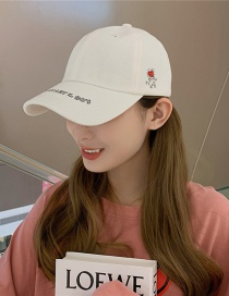 Fashion Villain Love White Love Baseball Cap