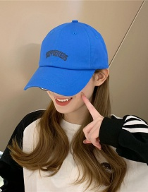 Fashion Blue Big Head Cap
