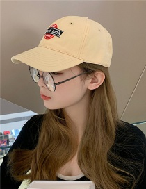 Fashion Beige Soft Top Big Head Circumference Sunscreen Baseball Cap