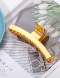 Fashion Gold Color Cross Matte Hair Scratch