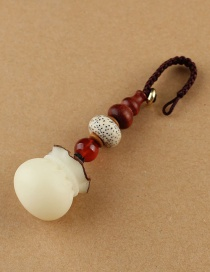 Fashion Gourd Lucky Bag Keychain Bodhi Keychain