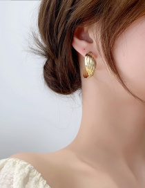 Fashion Gold Color Metal Multi-layer Winding Ear Ring