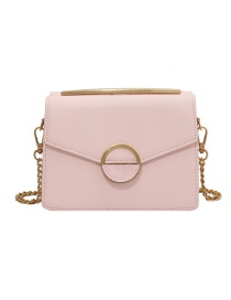 Fashion Pink Chain Shoulder Messenger Bag
