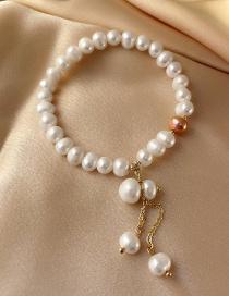 Fashion White Pearl Bracelet