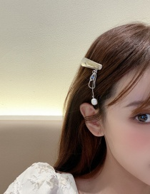 Fashion One Fringed Pearl Hairpin
