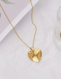 Collar Corazón Geométrico Irregular