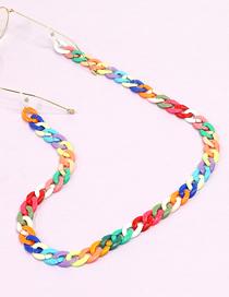 Fashion Twist Acrylic Woven Twist Glasses Chain Set