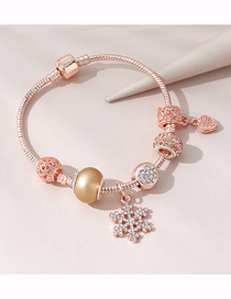 Fashion Golden Snowflake Bracelet