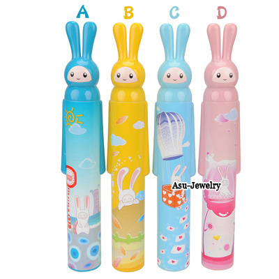 Electronic Color will be random Fashion Cartoon Rabbit Design Plastic Household goods