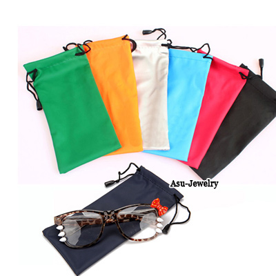 Art With Color will be random Frame Candy Color Sunglasses  Bag Cloth Glasses Accessories