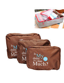 Travel Coffee Fashion 3Pcs In 1Set Design Cloth Household goods