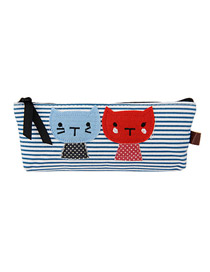 Invicta Blue creativity sweet cat pattern canvas Beauty tools