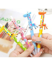 Ultra color will be random cartoon animals pattern design paper Writing Pens