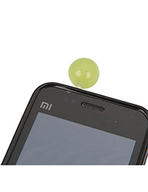Airmail Green Round Shape Acrylic Mobile phone products