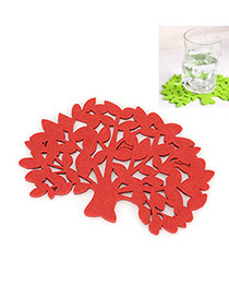 Creative Red 3d Butterfly Pattern Simple Design Wall Sticker(12pcs)  Pvc Household goods