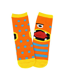 Preferential Yellow Shallow Mouth Invisible Socks Simple Design Velvet Fashion Socks