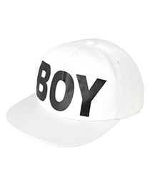 Fashion Black Funny Expression Decorated Adjustable Baseball Cap