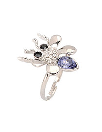 Executive Purple Spider Alloy Fashion Rings