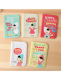 Luxury Color Will Be Random Cartoon Lovly Girl Pvc Household goods