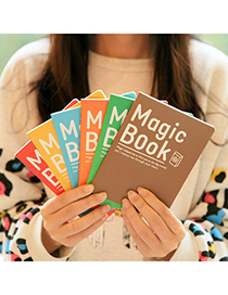 Reflective Random Color Magic Book A6 Design Paper Notebook Agenda