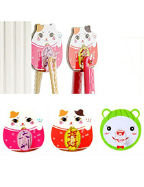 Couture Color Will Be Random Cartoon Cat Shape Design Pvc Household goods