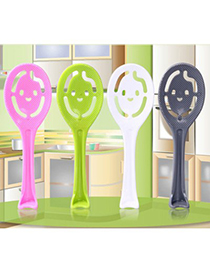 Christenin Color Will Be Random Hollow Smile Design Plastic Household goods
