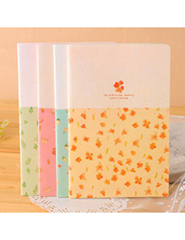 Dangle Color Will Be Random Flower Pattern Design Paper Notebook Agenda