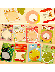 Kennedy Color Will Be Random Cartoon Animal Series Paper Stickers Tape
