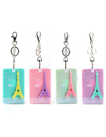 Fitness Color Will Be Random Eiffel Tower Pattern Design Acrylic Household goods