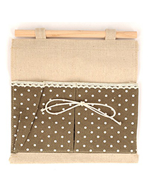 Torrid Coffee Double Bags Dot Pattern Design Cotton Household goods
